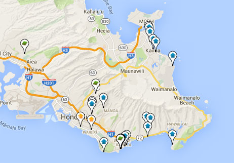 condos, homes and land for sale on Oahu